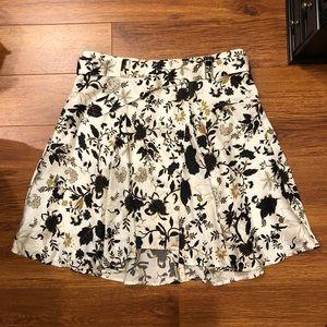 ALC Silk Floral Skirt